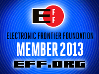 The Electronic Frontier Foundation defends digital rights.